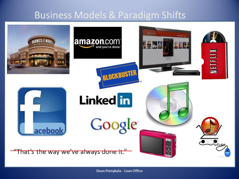 Business Models & Paradigm Shifts