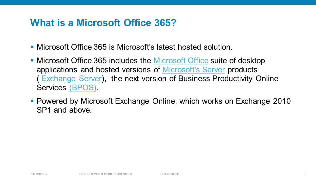 What is a Microsoft Office 365