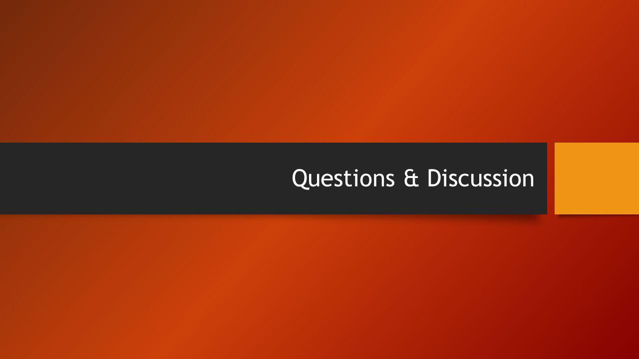 Questions & Discussion