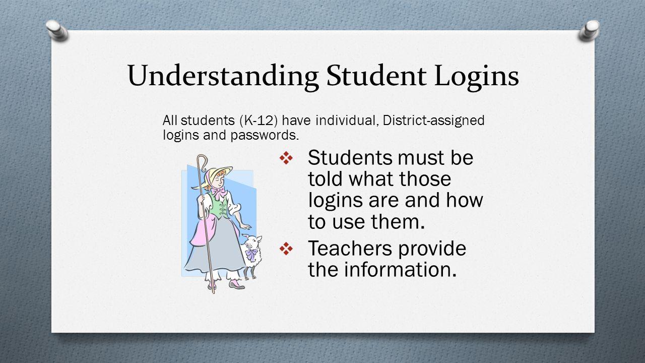 Understanding Student Logins