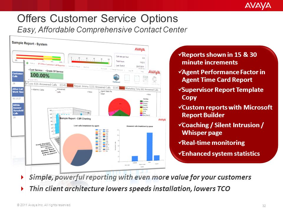Offers Customer Service Options Easy, Affordable Comprehensive Contact Center