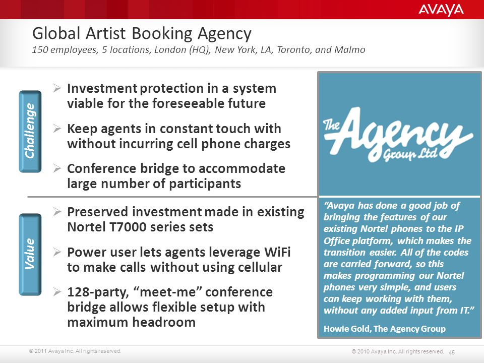 Global Artist Booking Agency 150 employees, 5 locations, London (HQ), New York, LA, Toronto, and Malmo