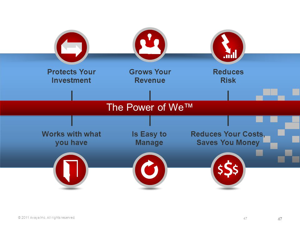 The Power of We™ Protects Your Investment Grows Your Revenue