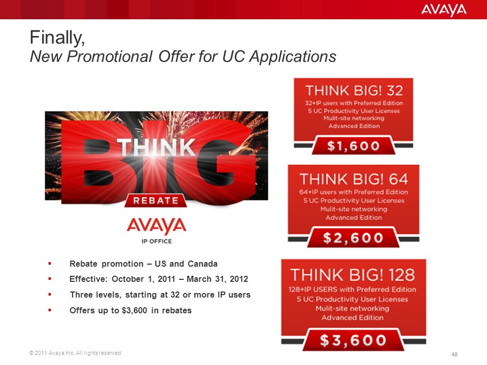 Finally, New Promotional Offer for UC Applications