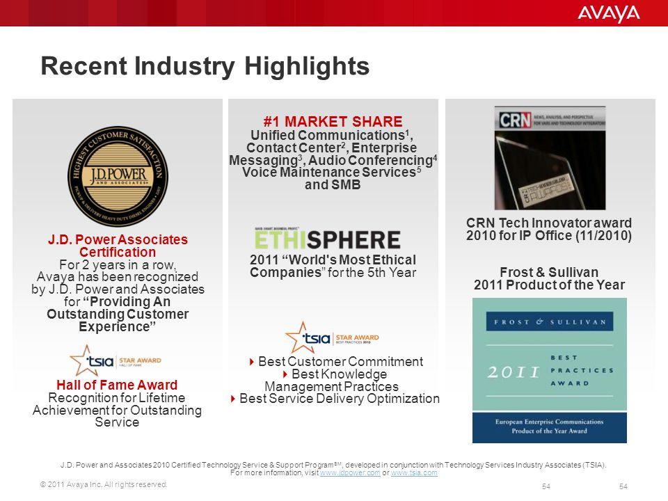 Recent Industry Highlights