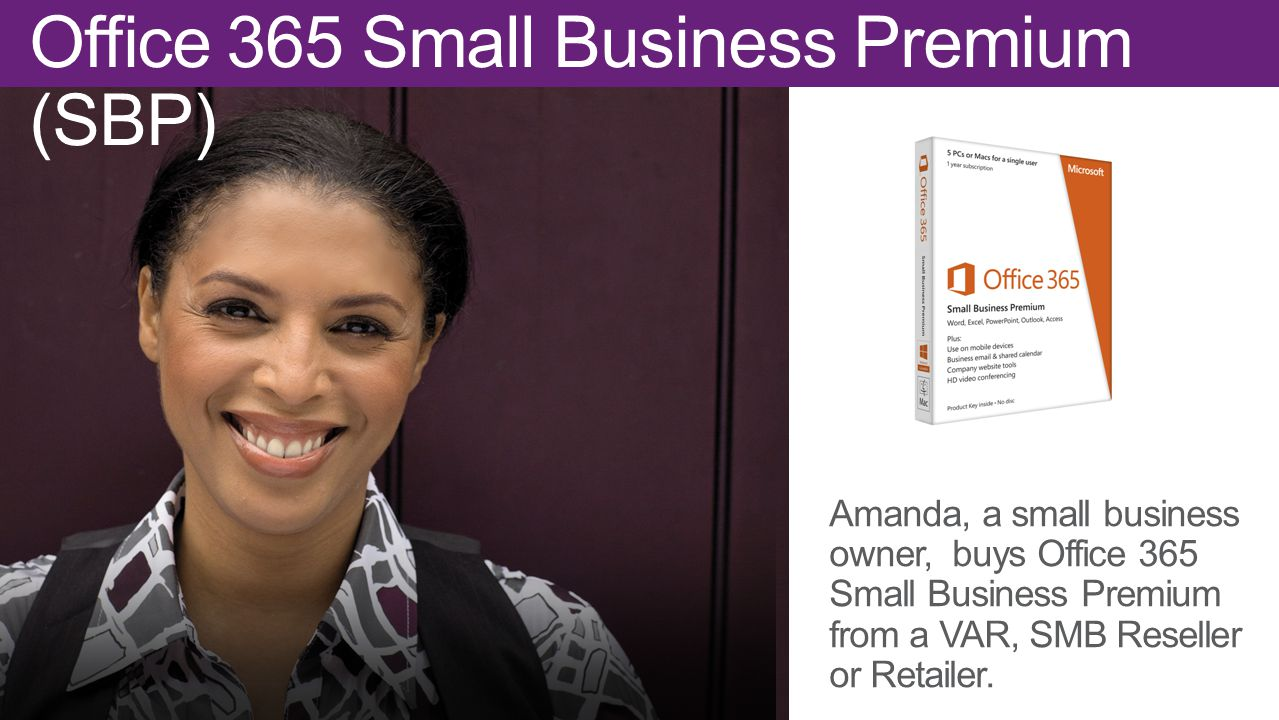Office 365 Small Business Premium (SBP)