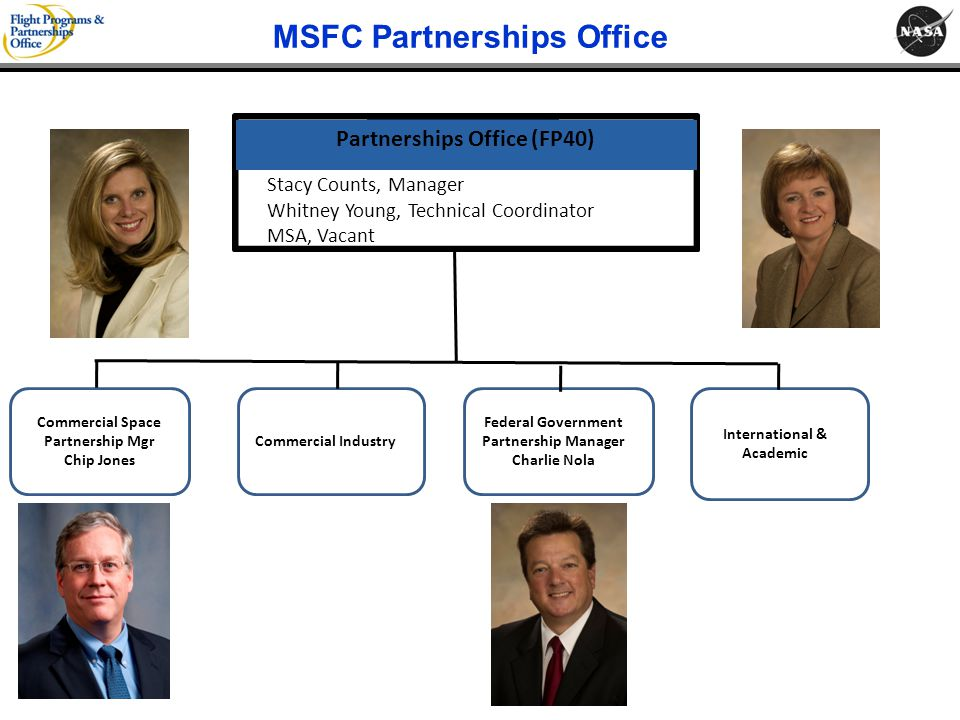 MSFC Partnerships Office