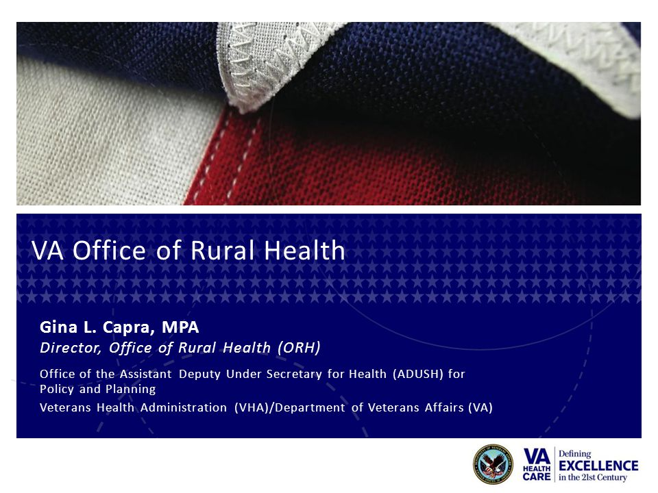 VA Office of Rural Health