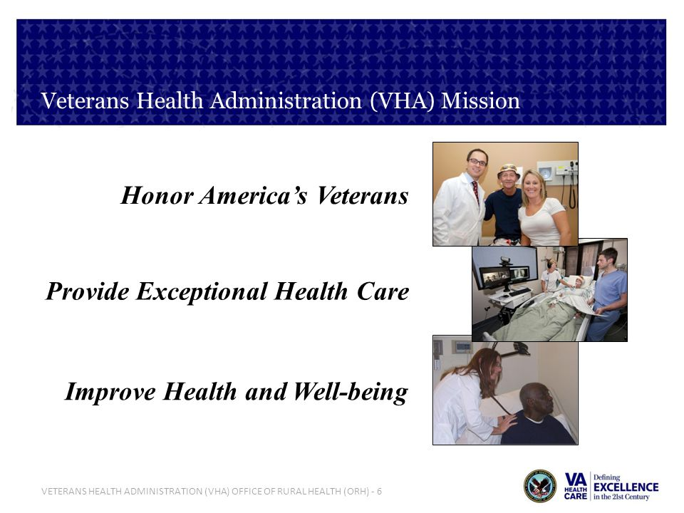 Veterans Health Administration (VHA) Mission