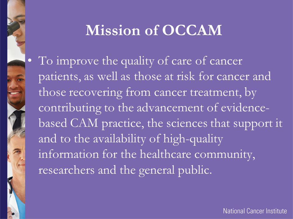 Mission of OCCAM