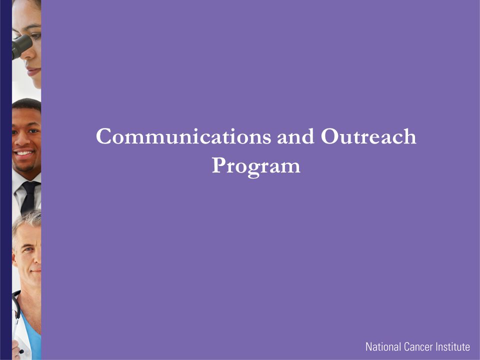 Communications and Outreach Program