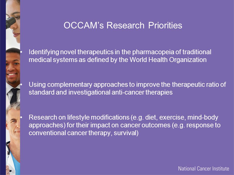 OCCAM's Research Priorities