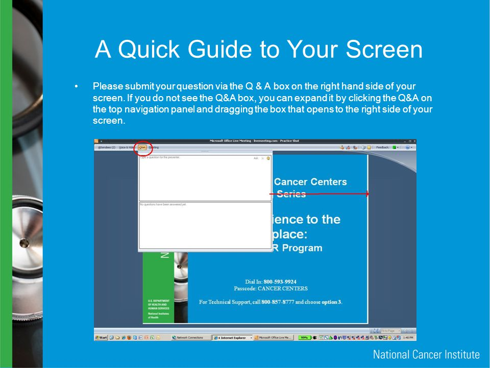 A Quick Guide to Your Screen