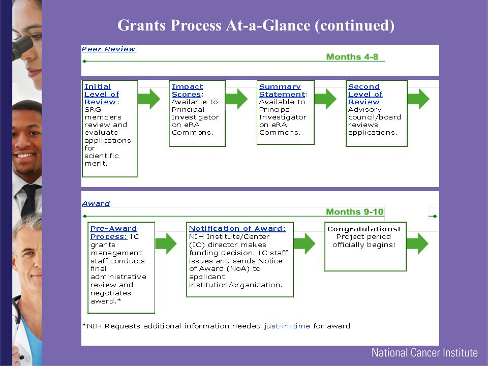Grants Process At-a-Glance (continued)