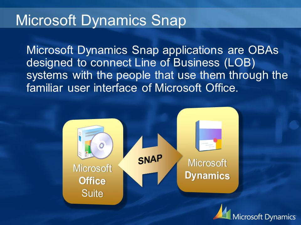 Microsoft Dynamics Snap