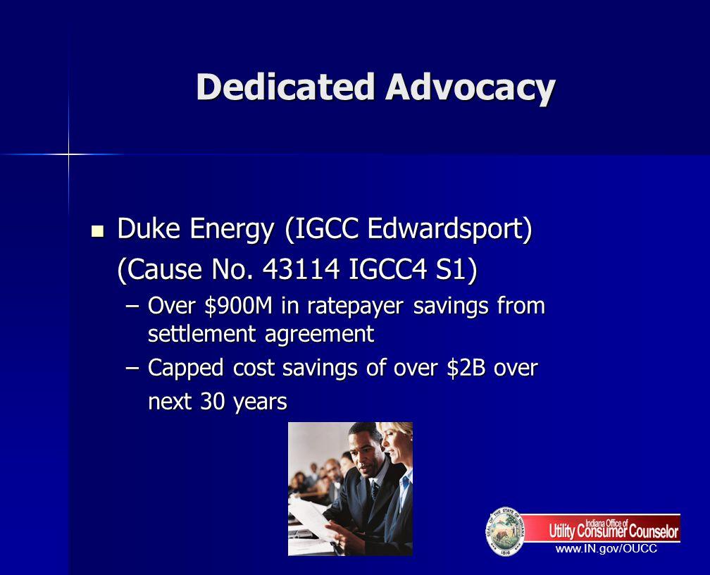 Dedicated Advocacy Duke Energy (IGCC Edwardsport)