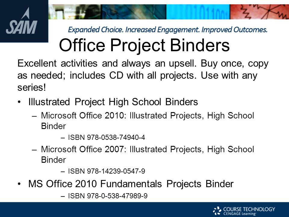 Office Project Binders