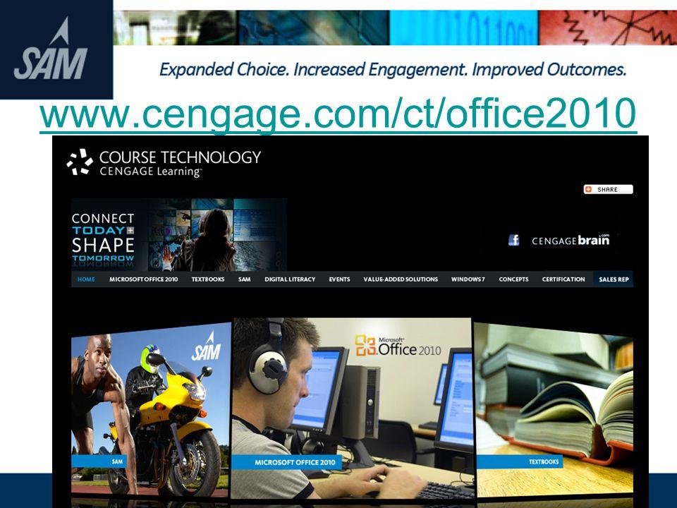 www.cengage.com/ct/office2010