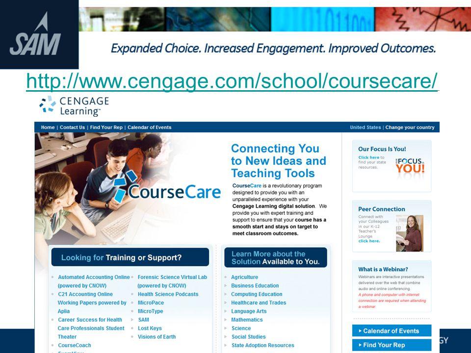 http://www.cengage.com/school/coursecare/