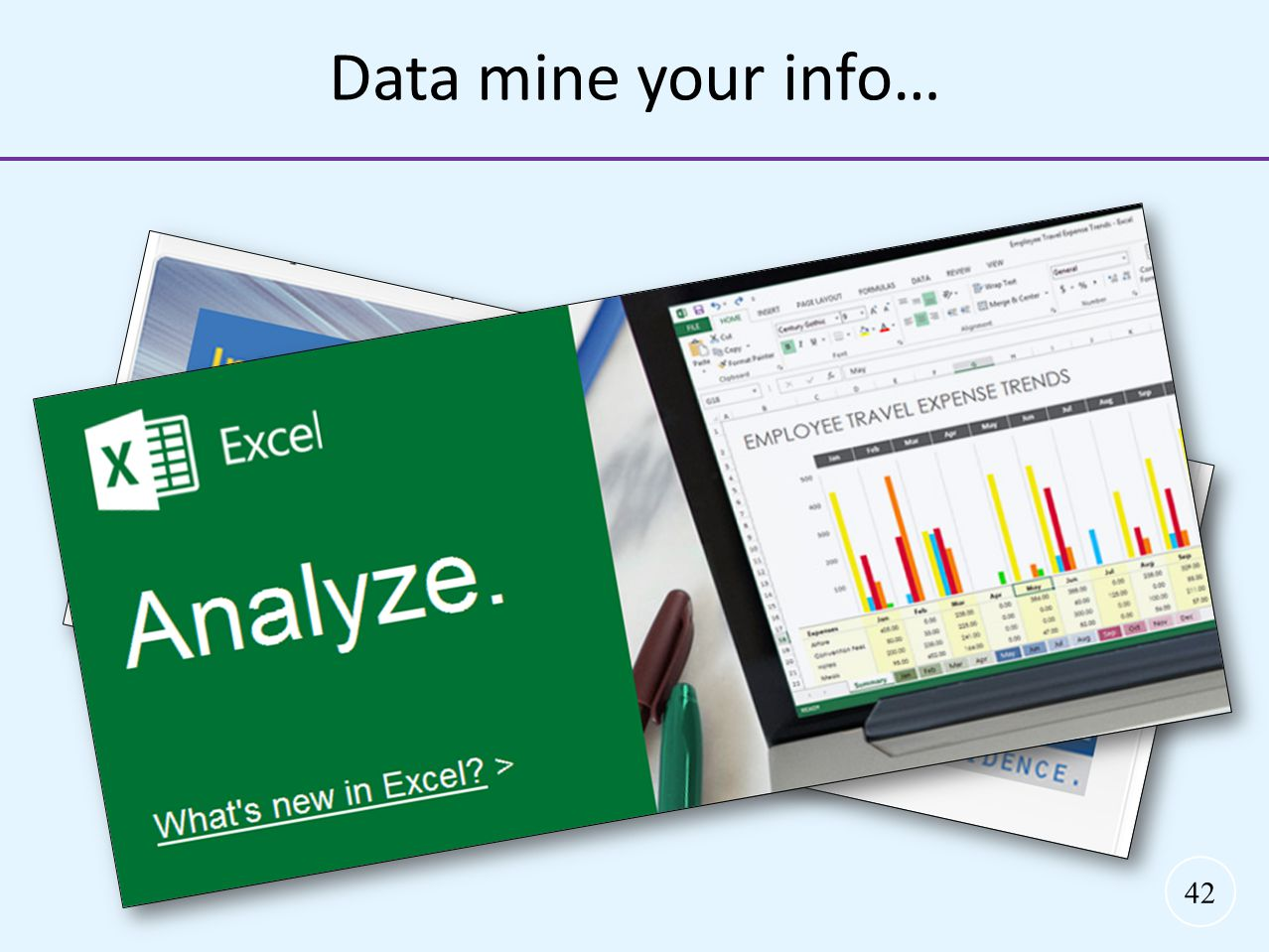Data mine your info… Data mine your information…. 4 simple steps: