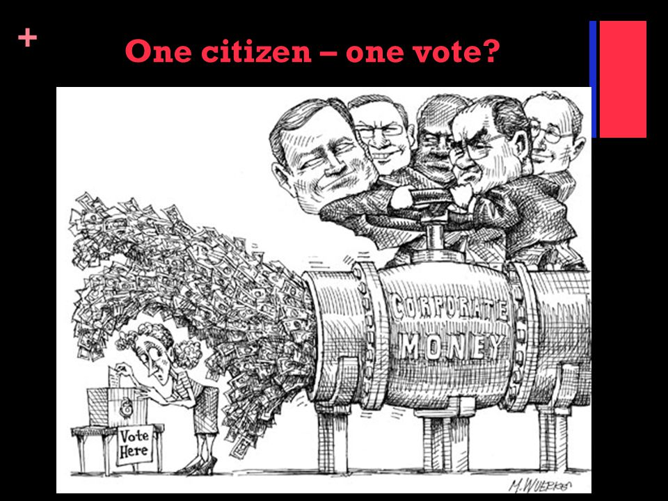 One citizen – one vote