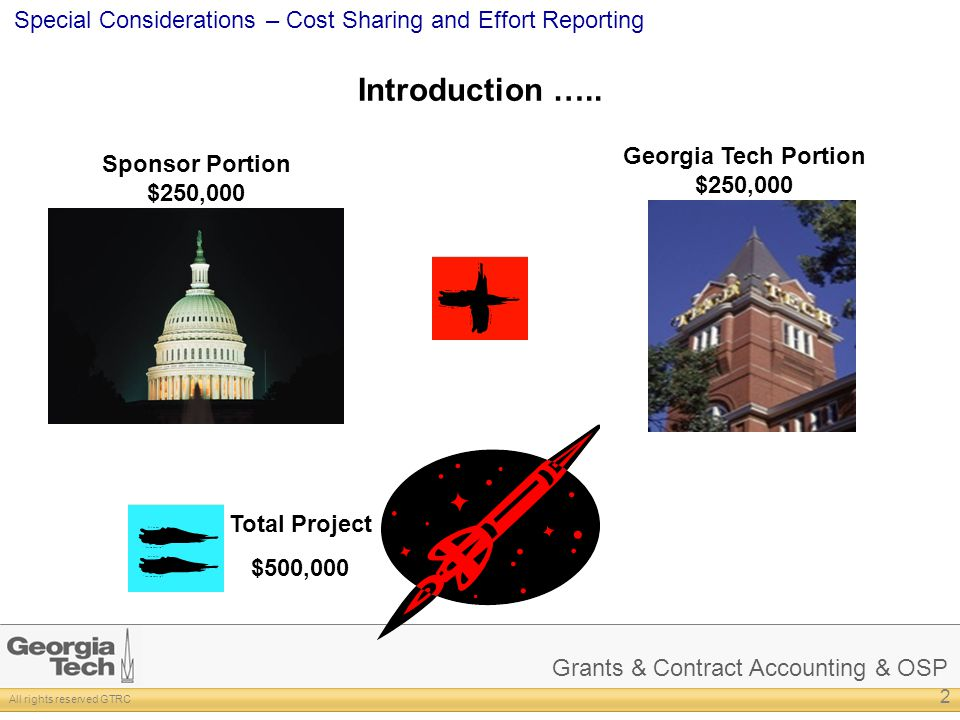 Introduction ….. Georgia Tech Portion $250,000