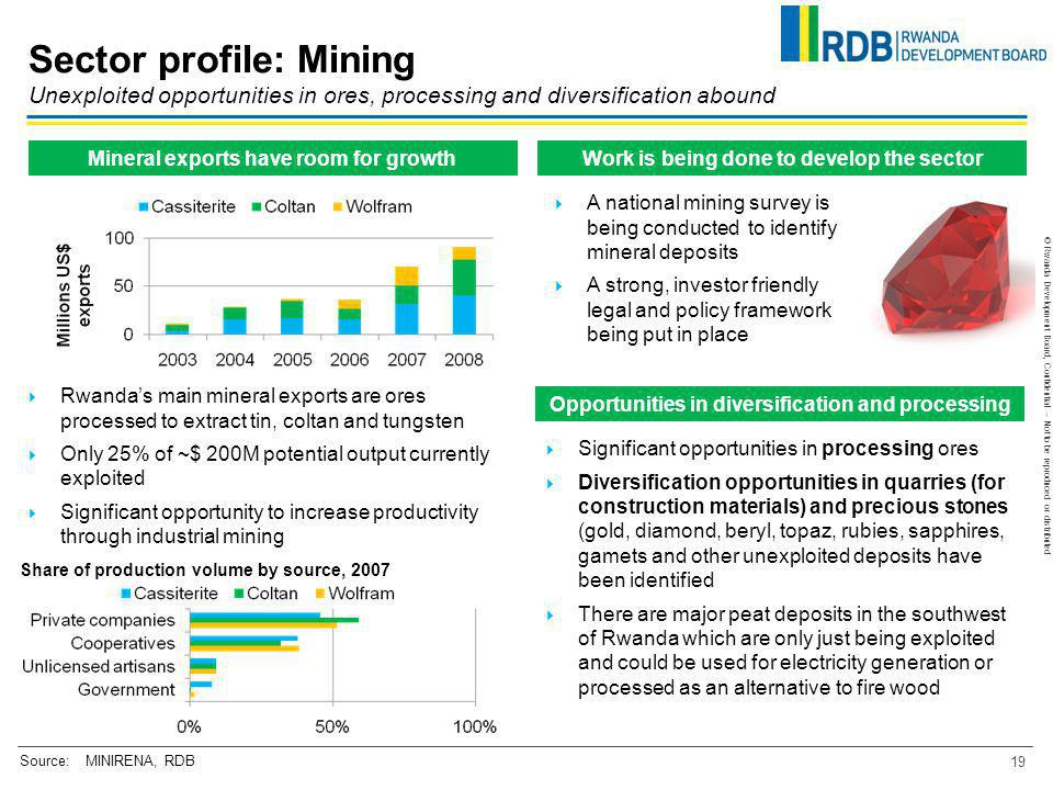 Sector profile: Mining Unexploited opportunities in ores, processing and diversification abound