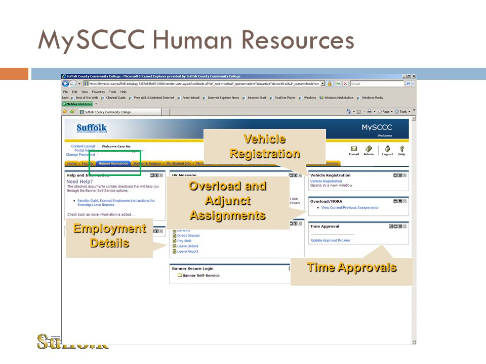 MySCCC Human Resources