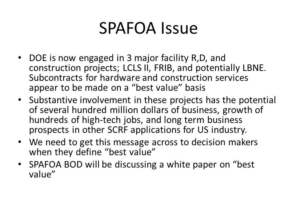 SPAFOA Issue