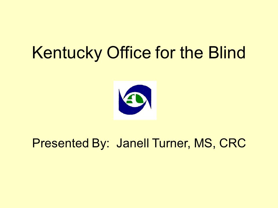 Kentucky Office for the Blind