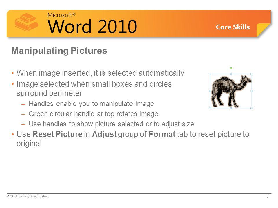 Manipulating Pictures
