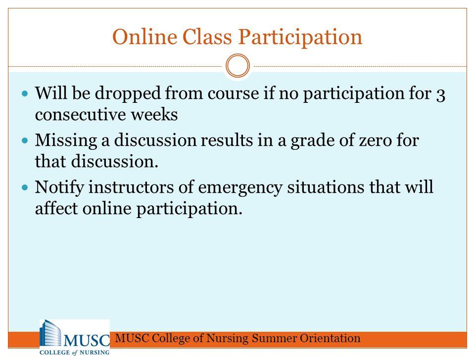 Online Class Participation