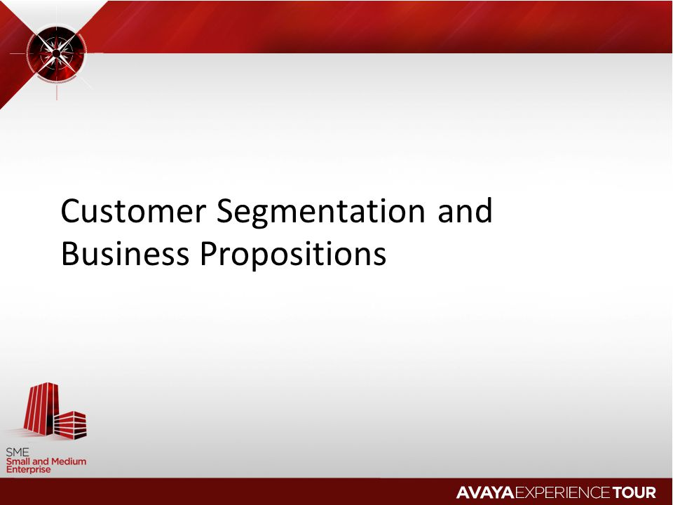 Customer Segmentation and Business Propositions