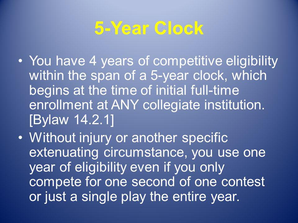 5-Year Clock