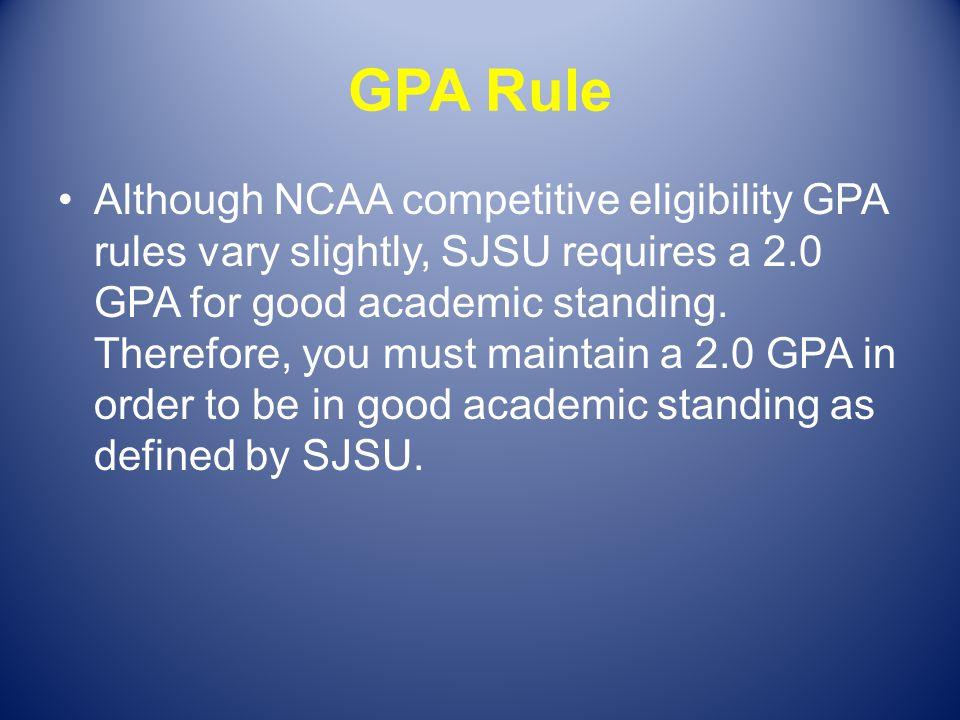 GPA Rule
