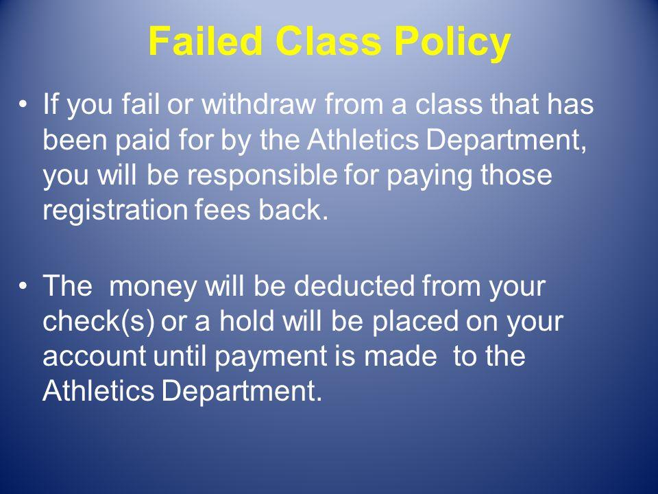 Failed Class Policy