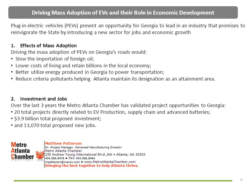 Driving Mass Adoption of EVs and their Role in Economic Development