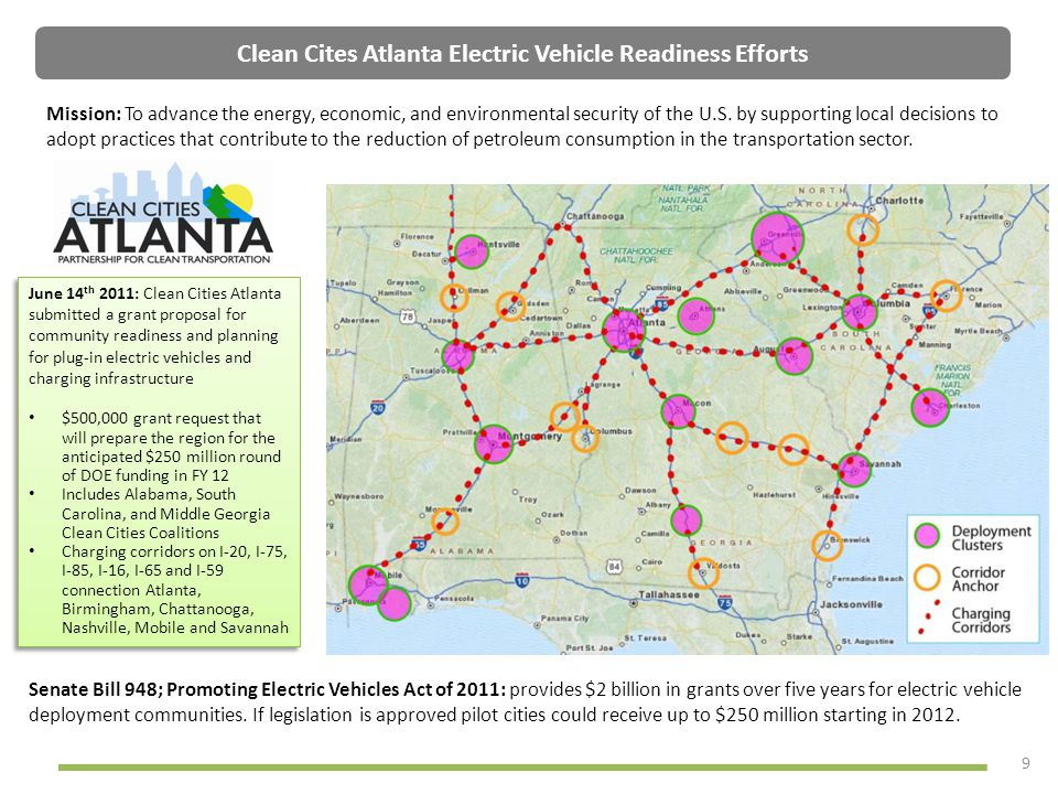 Clean Cites Atlanta Electric Vehicle Readiness Efforts