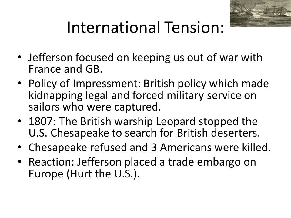 International Tension: