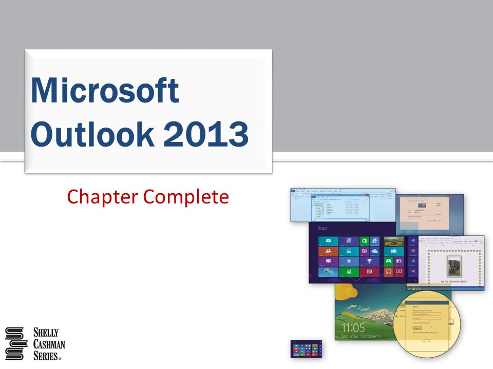 Microsoft Outlook 2013 Chapter Complete