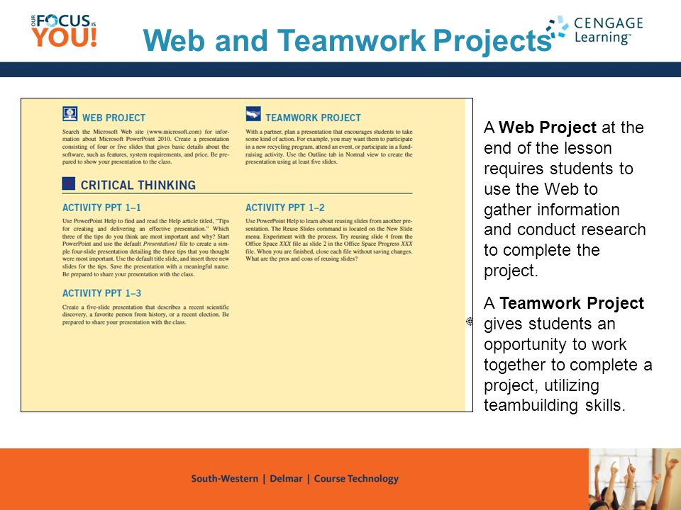 Web and Teamwork Projects