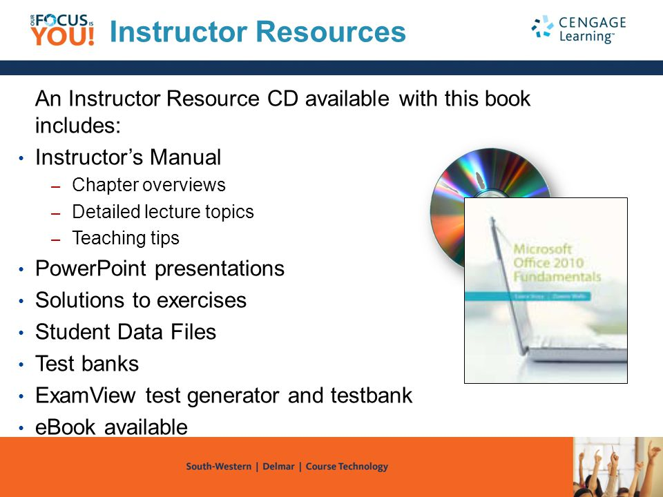 Instructor Resources An Instructor Resource CD available with this book includes: Instructor's Manual.