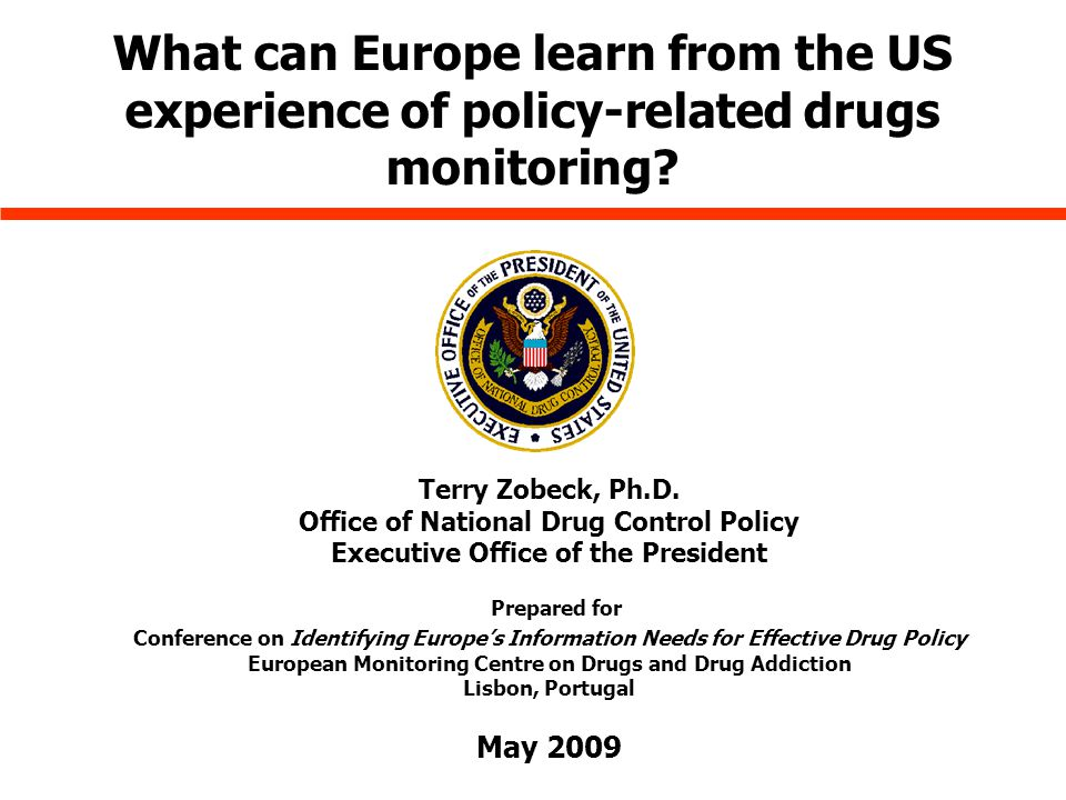 What can Europe learn from the US experience of policy-related drugs monitoring