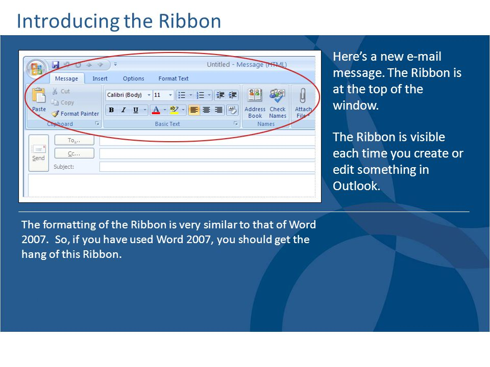 Introducing the Ribbon