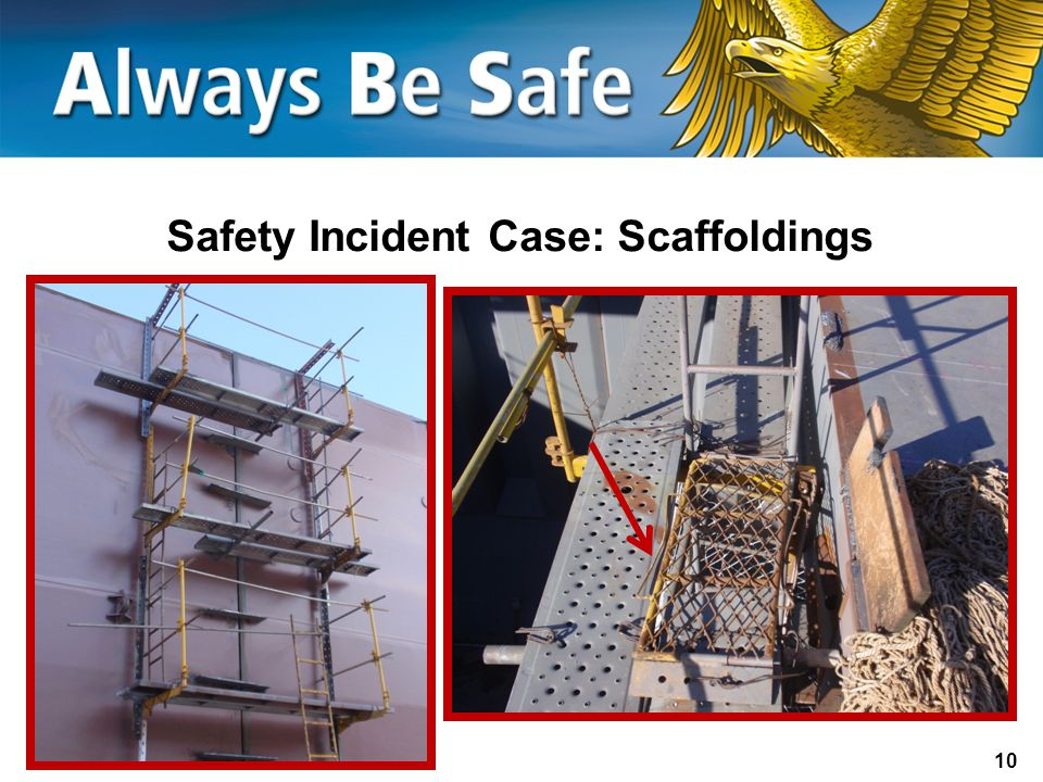Safety Incident Case: Scaffoldings