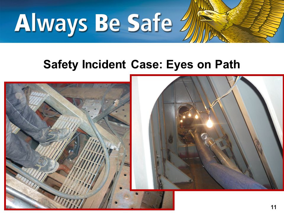 Safety Incident Case: Eyes on Path