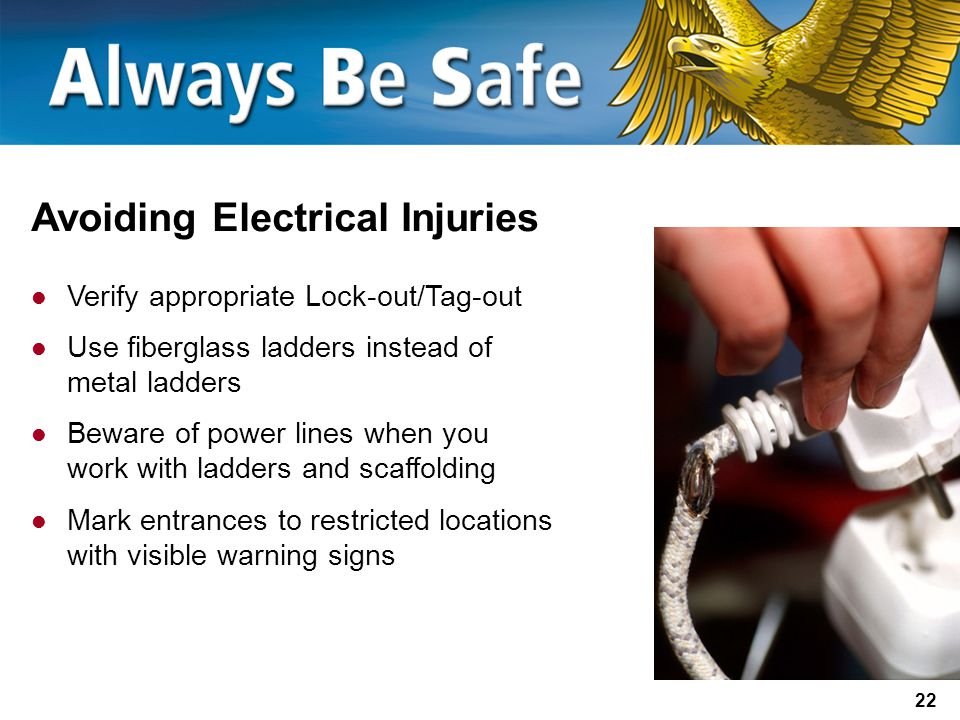 Avoiding Electrical Injuries