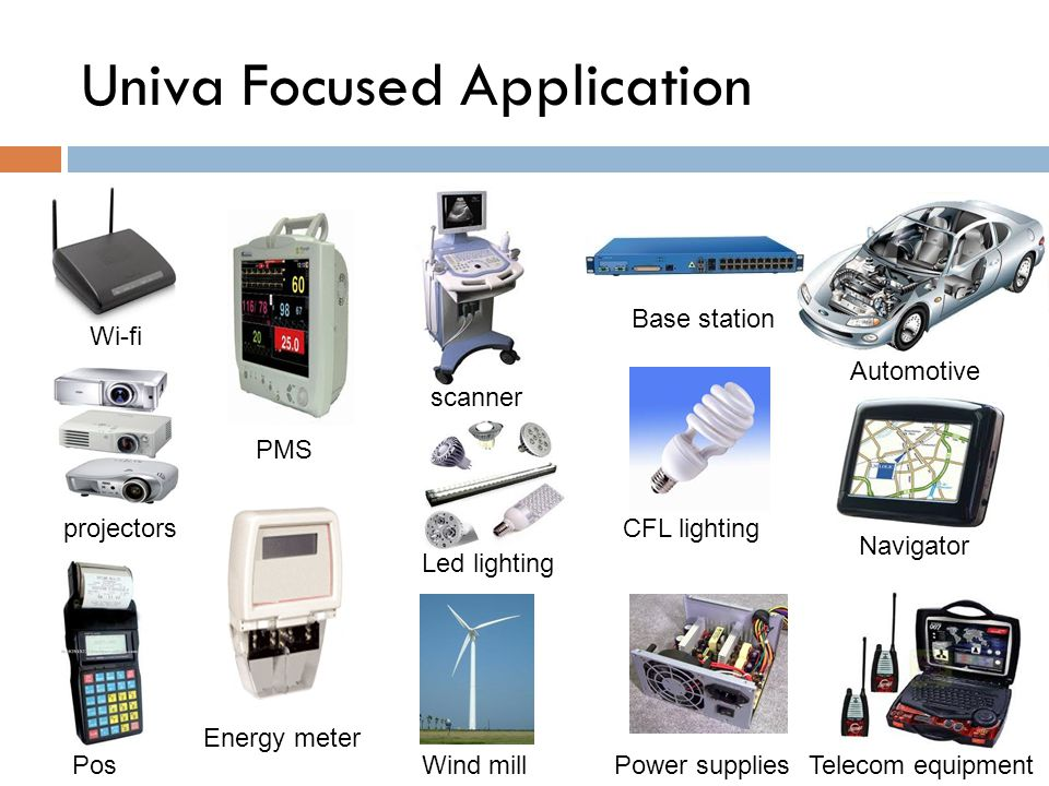 Univa Focused Application