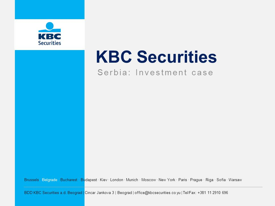 Serbia: Investment case