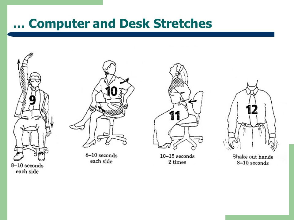 … Computer and Desk Stretches